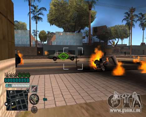 C-HUD v1 pour GTA San Andreas troisième écran