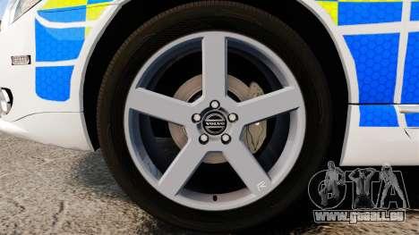 Volvo V70 South Wales Police [ELS] für GTA 4 Rückansicht
