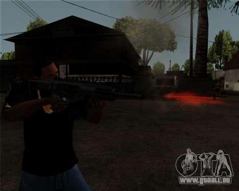 Beretta ARX-160 pour GTA San Andreas quatrième écran