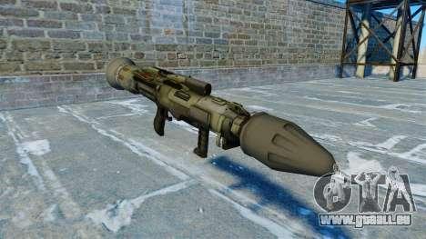 Lanceur de grenade antichar JAW v2.0 pour GTA 4