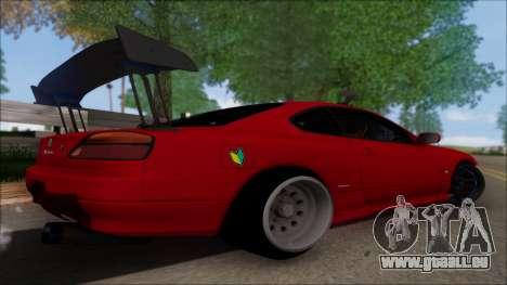Nissan Silvia S15 V2 pour GTA San Andreas laissé vue