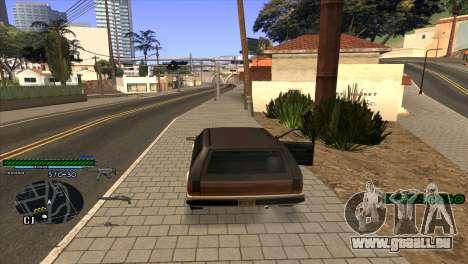 C-HUD Solt für GTA San Andreas