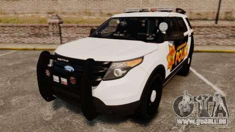 Ford Explorer 2013 LCPD [ELS] v1.5X für GTA 4