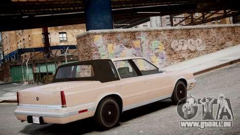 Chrysler New Yorker 1988 für GTA 4 linke Ansicht