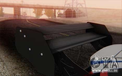 Ford Fiesta Omse HillClimb pour GTA San Andreas vue de droite
