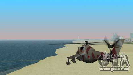 Mil Mi-24-Krokodil für GTA Vice City