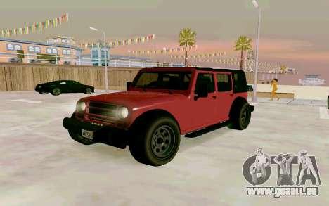GTA V Mesa für GTA San Andreas