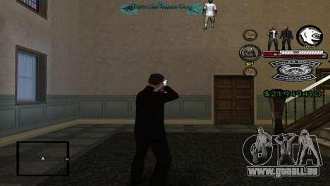 Hud By Tony pour GTA San Andreas deuxième écran