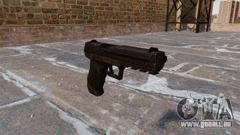 Pistolet Crysis 2 v2.0 pour GTA 4