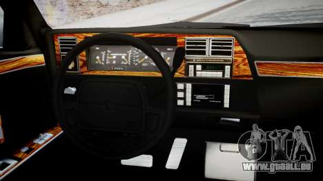 Chrysler New Yorker 1988 pour GTA 4 est un droit