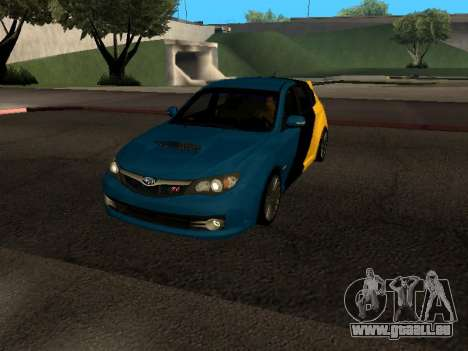 Subaru Impreza STi für GTA San Andreas
