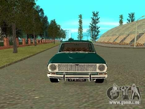 GAZ Volga 24-01 pour GTA San Andreas laissé vue