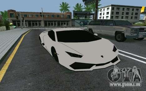 Lamborghini Huracane LP610-4 für GTA San Andreas