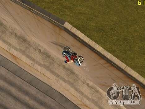 Reiten auf Wände und decken v2. 0. für GTA San Andreas her Screenshot