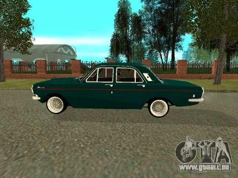 GAZ Volga 24-01 pour GTA San Andreas sur la vue arrière gauche