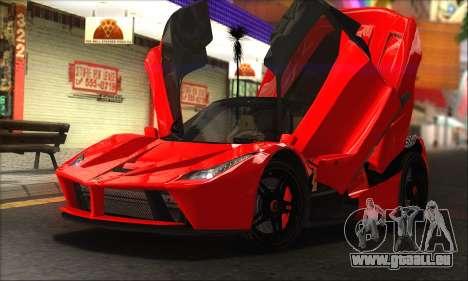 Ferrari LaFerrari v1.0 für GTA San Andreas
