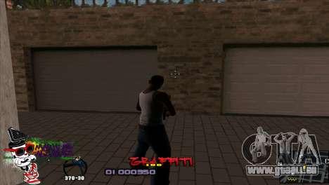 C-HUD Markus für GTA San Andreas zweiten Screenshot