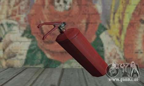 Extincteur de L4D pour GTA San Andreas deuxième écran