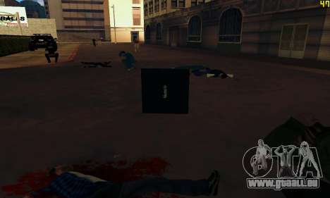 Notebook mod v1.0 pour GTA San Andreas sixième écran