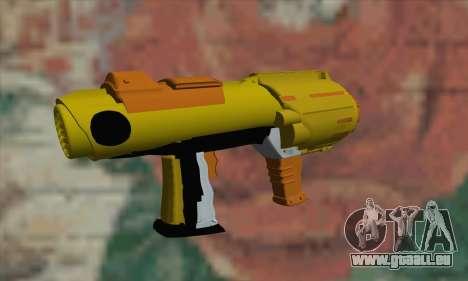 Nerf Gun pour GTA San Andreas deuxième écran