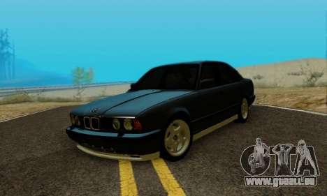 BMW M5 E34 1992 pour GTA San Andreas vue de droite