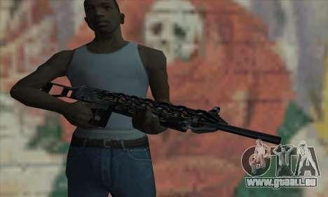 Gauss Kanone von Stalker für GTA San Andreas dritten Screenshot
