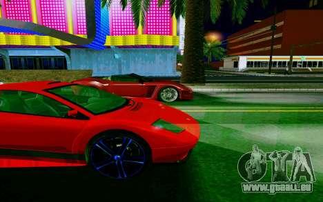 GTA V Pegassi Infernus pour GTA San Andreas vue arrière