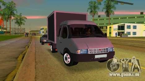 Gazelle 33023 pour une vue GTA Vice City de la gauche