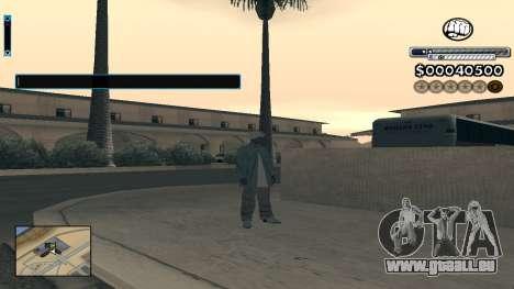 C-HUD v1.0 pour GTA San Andreas deuxième écran