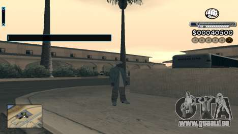 C-HUD v1.0 für GTA San Andreas zweiten Screenshot