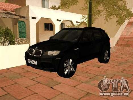 BMW X5 E70 2009 pour GTA San Andreas