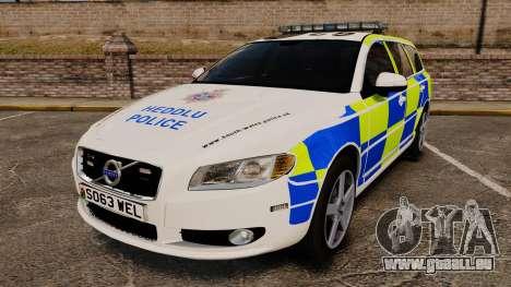 Volvo V70 South Wales Police [ELS] für GTA 4