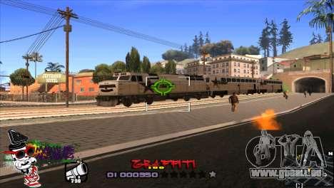 C-HUD Markus pour GTA San Andreas troisième écran
