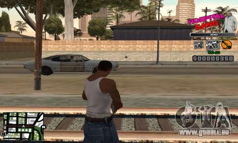 C-HUD Hospital für GTA San Andreas zweiten Screenshot