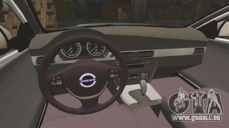 Volvo V70 South Wales Police [ELS] pour GTA 4 est une vue de l'intérieur