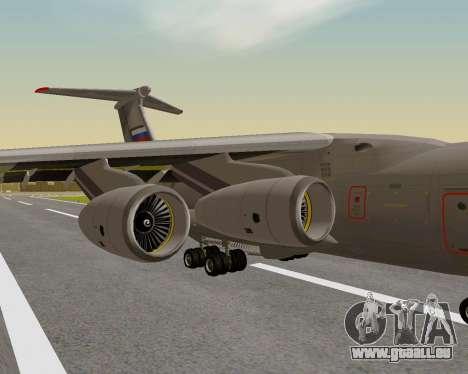 Il-76md-90 (IL-476) pour GTA San Andreas vue arrière