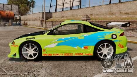 Mitsubishi Ecplise GS 1995 pour GTA 4 est une gauche