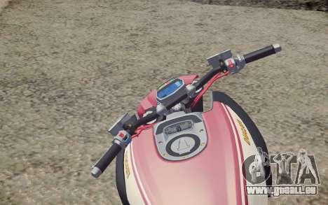 Ducati Diavel Carbon 2011 pour GTA San Andreas vue de droite