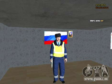 Pak DPS dans un format de l'hiver pour GTA San Andreas deuxième écran