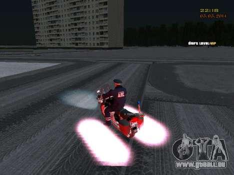 Pak DPS dans un format de l'hiver pour GTA San Andreas septième écran