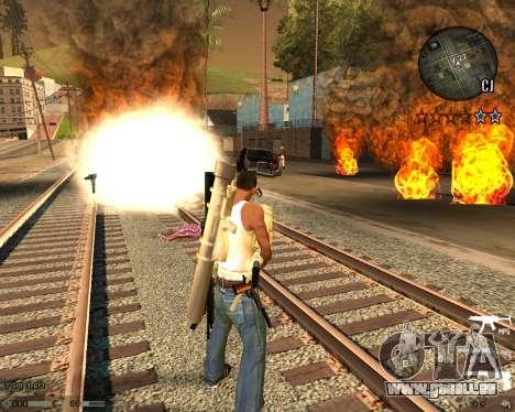C-HUD CS:GO pour GTA San Andreas deuxième écran