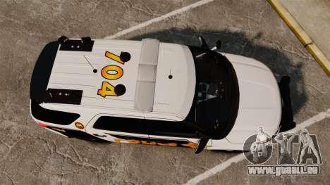 Ford Explorer 2013 LCPD [ELS] v1.5X für GTA 4 rechte Ansicht