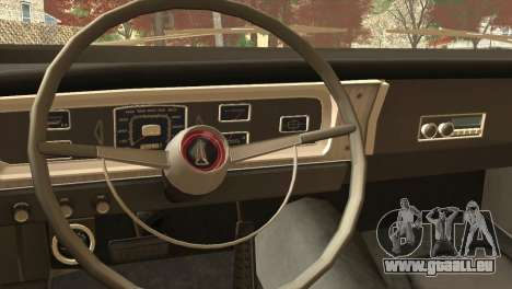 Plymouth Belvedere 2-door Sedan 1965 pour GTA San Andreas vue de droite