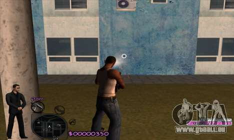 C-HUD Woozie pour GTA San Andreas quatrième écran