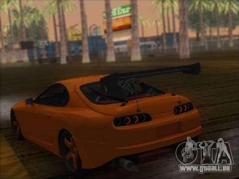 Toyota Supra pour GTA San Andreas vue de côté
