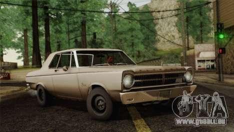 Plymouth Belvedere 2-door Sedan 1965 pour GTA San Andreas