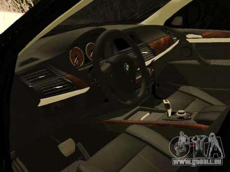 BMW X5 E70 2009 pour GTA San Andreas vue de droite