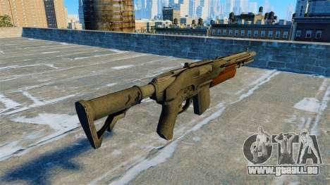Fusil de chasse semi-automatique chacal pour GTA 4 secondes d'écran