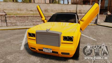 Super Drop Diamond VIP für GTA 4 Rückansicht