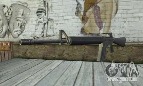 M4A1 из Postal 3 für GTA San Andreas